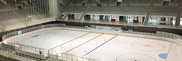 Ice hockey boards (Universiade Granada)
